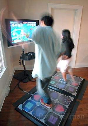Dance Dance Revolution is a video game that makes you healthier.