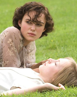 Truth or fiction? Atonement shows the far-reaching effects of a 13-year-old's (Saoirse Ronan) fable about her sister (Keira Knightley) and a servant's son.