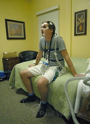 Indy Reporter Does Sleep Study