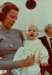 The author pictured with her grandmother Kathryn Bailard (Mame).
