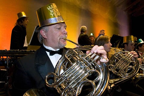 Party hats and horns come in many shapes and sizes at the Santa Barbara Symphony's New Year's Eve Concert, which this time out features the music of Leroy Anderson.