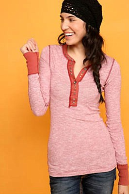 Free People loungewear.