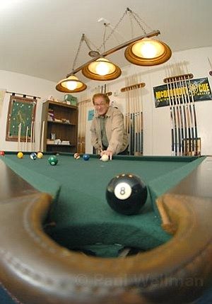 John Kuhn owner of Mission Pool Tables
