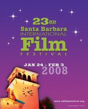 The 2008 poster for the Santa Barbara International Film Festival.