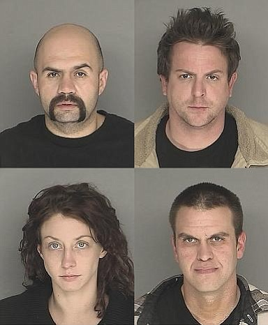 Clockwise from top left are Samuel Huerta, Jesse Deason, Eric Johnson, and Charlene Iniguez.