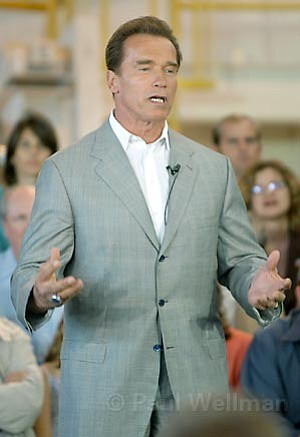 Gov. Arnold Schwarzenegger proposed huge budget cuts to make up for a $14.5 billion deficit, meaning area government agencies will soon be feeling the pinch.