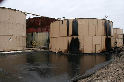 Repeated Greka oil spills, like the one near Firestone Vineyards in early January, prompted a lengthy County Supervisors hearing on the subject this week. According to Greka, the spills are the result of sabotage rather than negligence on their part.