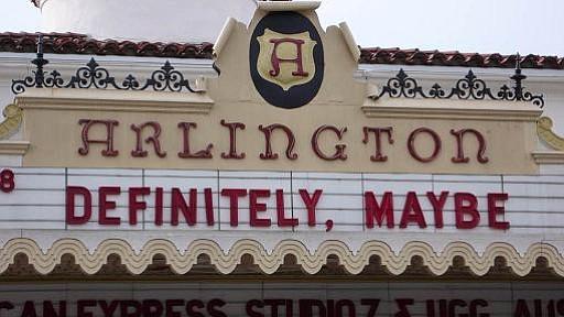 Arlington marquee
