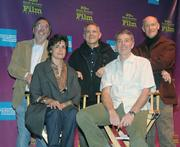 Producers Panel clockwise from top left James L. Brooks, Craig Zadan, Neil Meron, Daniel Lupi, and Lianne Halfon