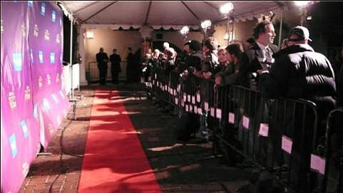 The red carpet awaits.
