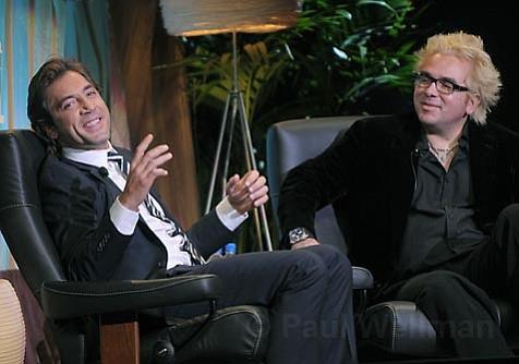 Javier Bardem and Roger Durling