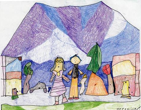 "Veronica Paulsen's ""Purple World."""