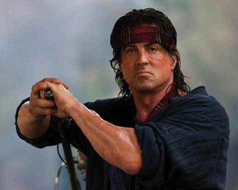 Oh, Rambo. The bad guys are at it again, but your willingness to wreak massive bloodletting will save us all (sort of).