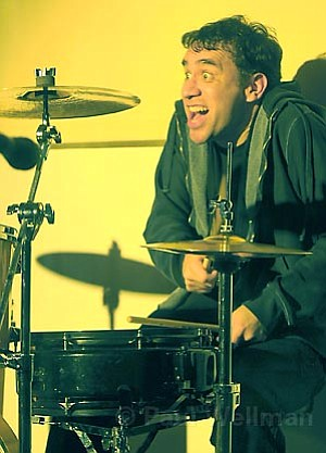 <em>SNL</em>'s Fred Armisen did several drummer impressions from the trap set, including Keith Moon, Charlie Watts, and even Rick Allen from Def Leppard.