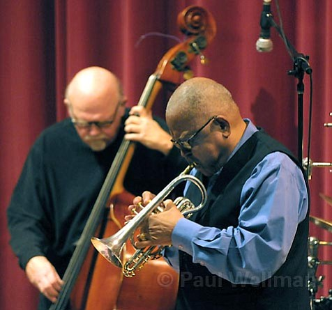 Trumpeter Bobby Bradford returned to town last Saturday for an evening of blues and jazz at UCSB.