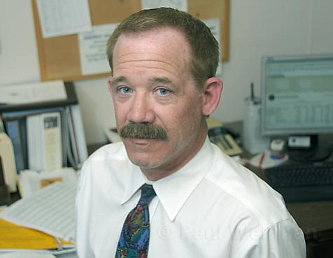 Rob Peirson, the City of Santa Barbara's financial director