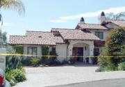 The Via Gennita home where a shooting allegedly happened this morning.