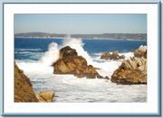Point Lobos' rocky surf