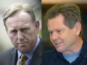 Left: Will James Blatt's heated hyperbole prove persuasive with the State Supremes? Right: Prosecutor Ron Zonen says he was only trying to help capture Hollywood.