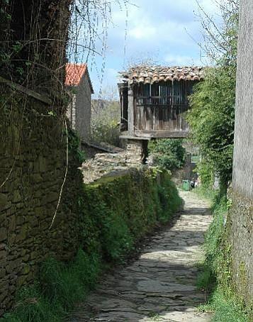 El Camino de Santiago in northern Spain