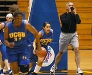 Coach Mark French during a 2005 practice in the Thunderdome