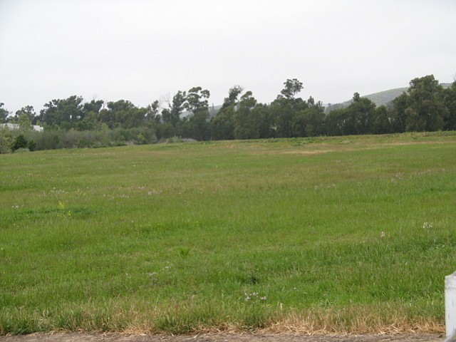 Vacant Goleta land owned by the Bermant Development Company.