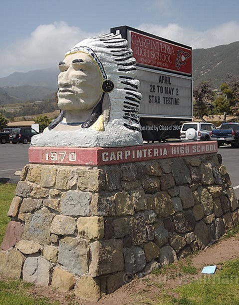 The Carpinteria High School Marquee