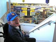 Phil Womble overlooks his Hall of Champions, which was dedicated this weekend during the All Gaucho Reunion.
