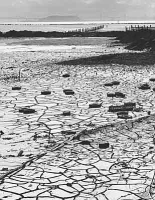 "Rondal Partridge's ""Tire Marks,"" San Rafael, circa 1965."
