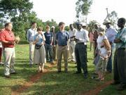 Jeffrey Sachs in Kenya