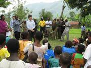 Jeffrey Sachs in Uganda