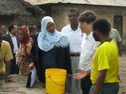 Jeffrey Sachs in Zanzibar