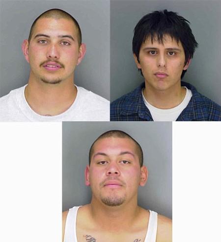 Clockwise from top left: Robert Joseph Martinez, Carlos Diaz, Emilio Mora
