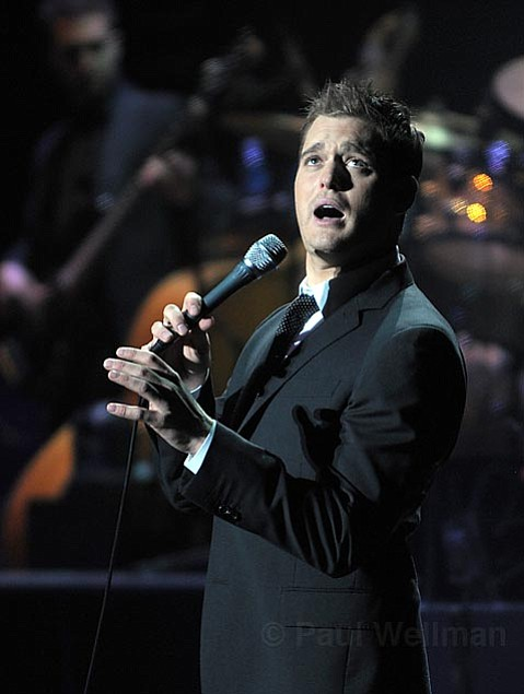 Canadian crooner Michael Buble served up a collection of American standards and original compositions during his two-night stint at the Bowl.