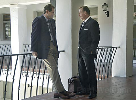 Despite claims from Jesse James Hollywood's attorney, James Blatt (right), that prosecutor Ron Zonen (left) had broken the law and had a conflict of interest because of his participation in making a movie, the California Supreme Court ruled Zonen didn't have to be recused.