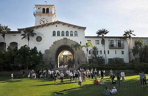 Pacific Pride Rally at the Santa Barbara Courthouse