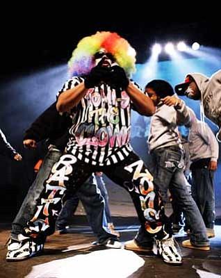 Tommy the Hip Hop clown.