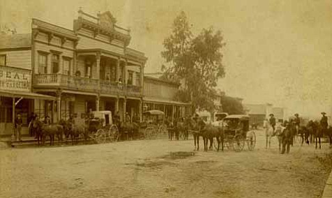 The town of Los Alamos in the mid 1890s.