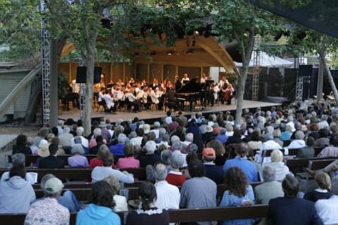 Ojai Music Festival, June 10, 2007.