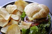 Char West Burger