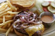 Paradise Cafe Burger