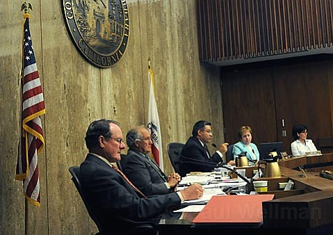 ALL SHOOK UP: The Santa Barbara County Board of Supervisors didn't have an easy job last week, cutting millions of dollars in services to residents.
