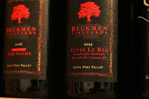 "2005 Beckmen Vineyards ""Cuvee Le Bec"" Santa Ynez Valley."