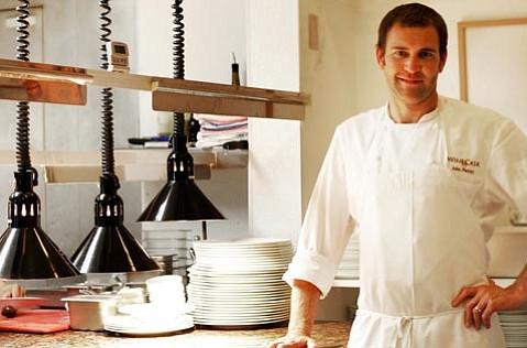 John Pettitt, the new executive chef of The Wine Cask.
