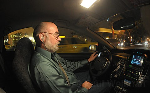 Lucky Cab driver Richard Honigman