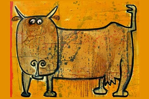 """Cow"", by Brad Nack."