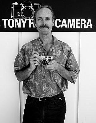 Steve Boyajian, owner, Tony Rose Camera