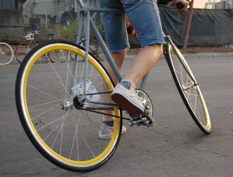 Fixed Gear Bike Craze And Its Santa Barbara Acolytes