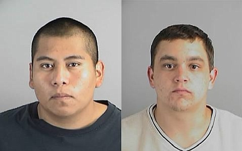 "Francisco ""Frank"" Mejia Martinez (left) and Christopher Richard Castillo."