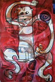 """""""Ape"""" by Brad Nack."""